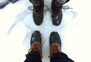 his and her boots