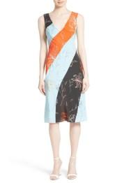 bias stripe dress