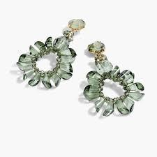 wreath earring
