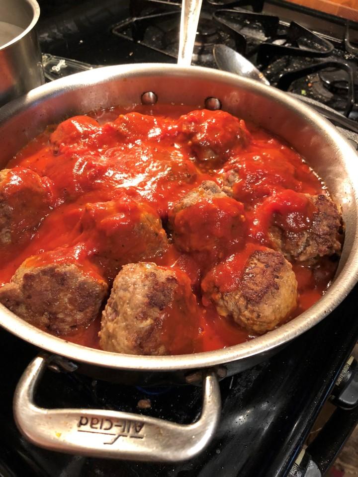 2souschefs // Spaghetti &Meatballs