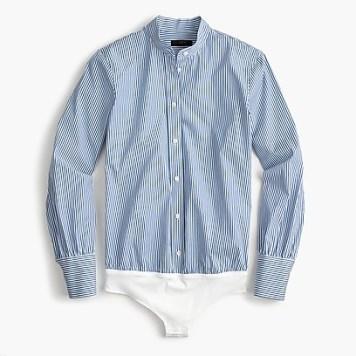 cotton stripe blue
