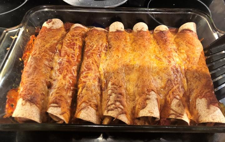 Chicken Enchiladas //@2souschefs