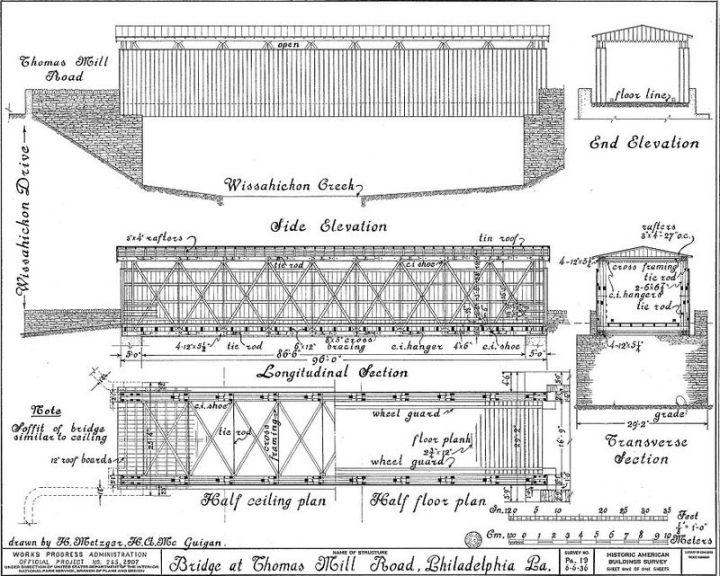 Historic Bridges of the MidAtlantic: Thomas MillBridge