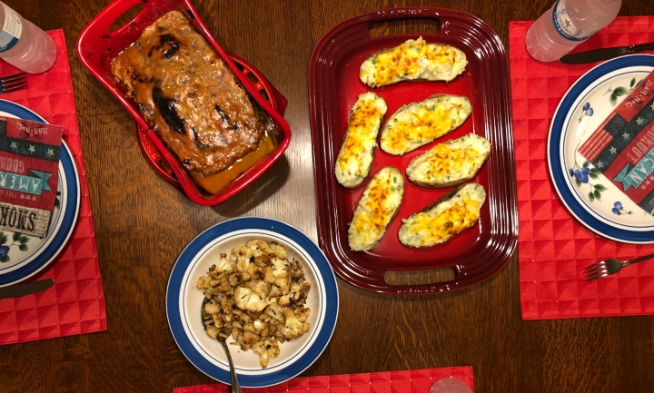 Home-Style Glazed Meatloaf //@2souschefs