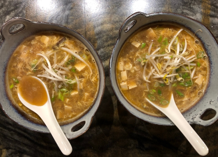 Shrimp Hot and Sour Soup //@2souschefs
